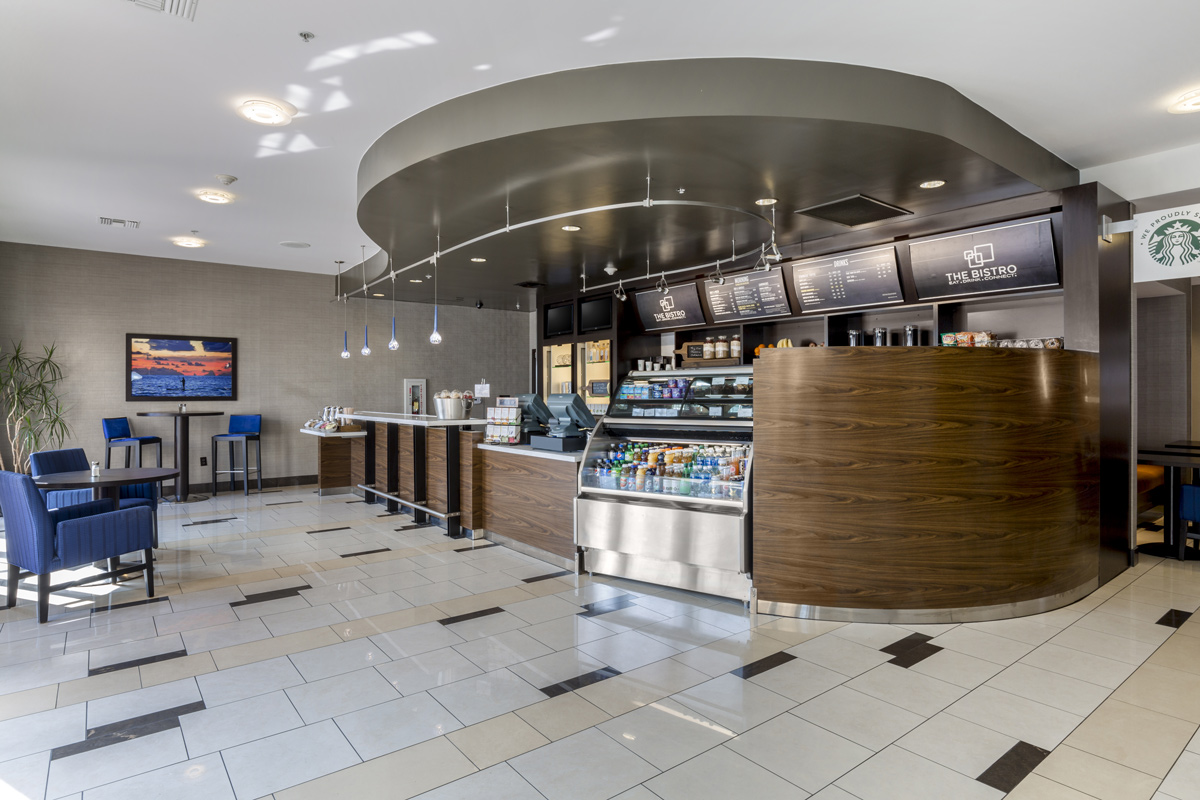Courtyard by Marriott Liberty Station - bistro